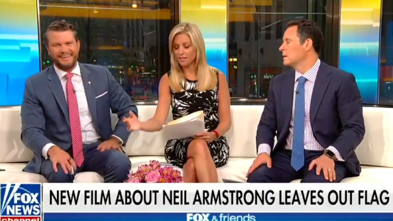 Fox Host Pete Hegseth: Ryan Gosling's An 'Idiot' For Calling Moon Landing A 'Human Achievement'