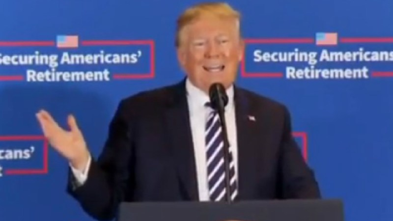 Trump Falsely Accuses Bloomberg Of Printing His Off-The-Record Comments: 'Very Dishonorable People!'