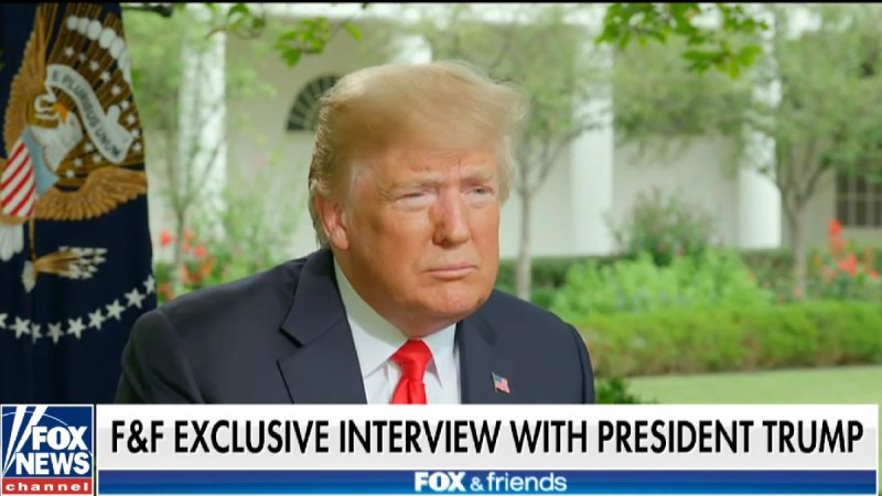 Trump: If I'm Impeached, 'Everybody Would Be Very Poor' Because The 'Market Would Crash'