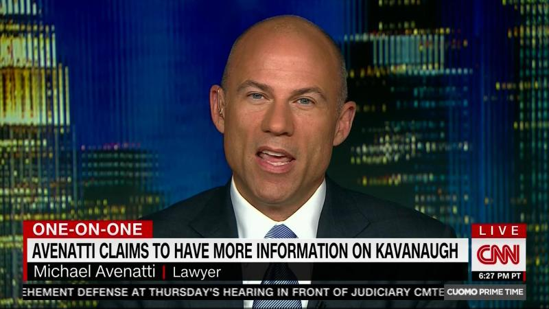 Michael Avenatti Appears On CNN And MSNBC Simultaneously For 'Live' Interviews