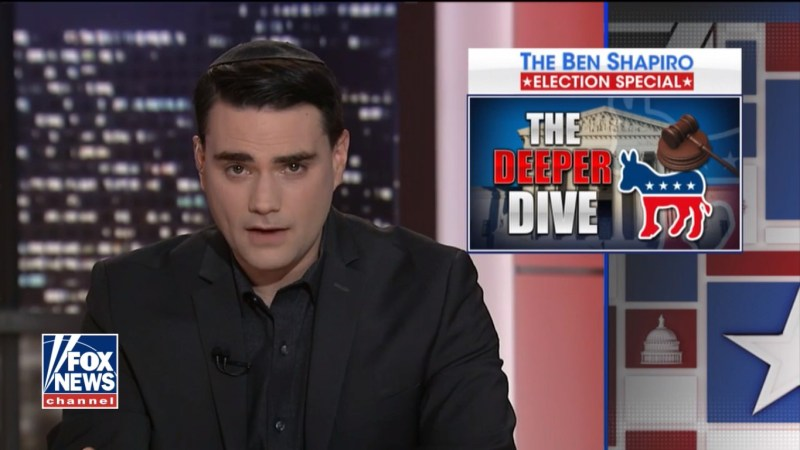 Ben Shapiro's Election Special Gives Fox News Big Boost In Ratings Sunday Night