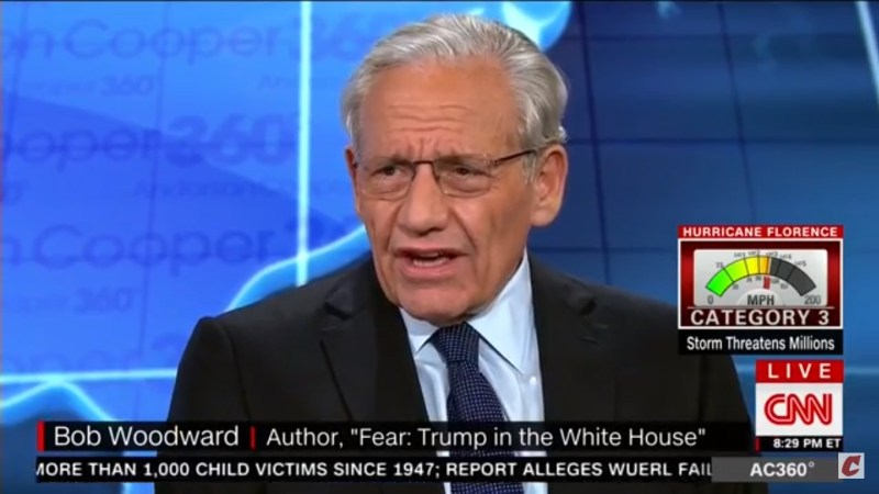 'It Sets Us Back': Bob Woodward Responds To Eric Trump's 'Shekels' Remark