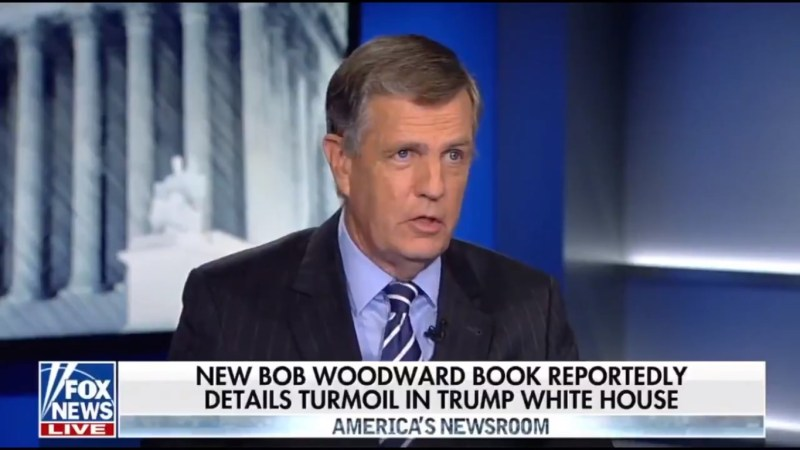 Fox's Brit Hume: 'Thank God For The People Around Trump' Who Stole Papers So He Wouldn't Sign Them