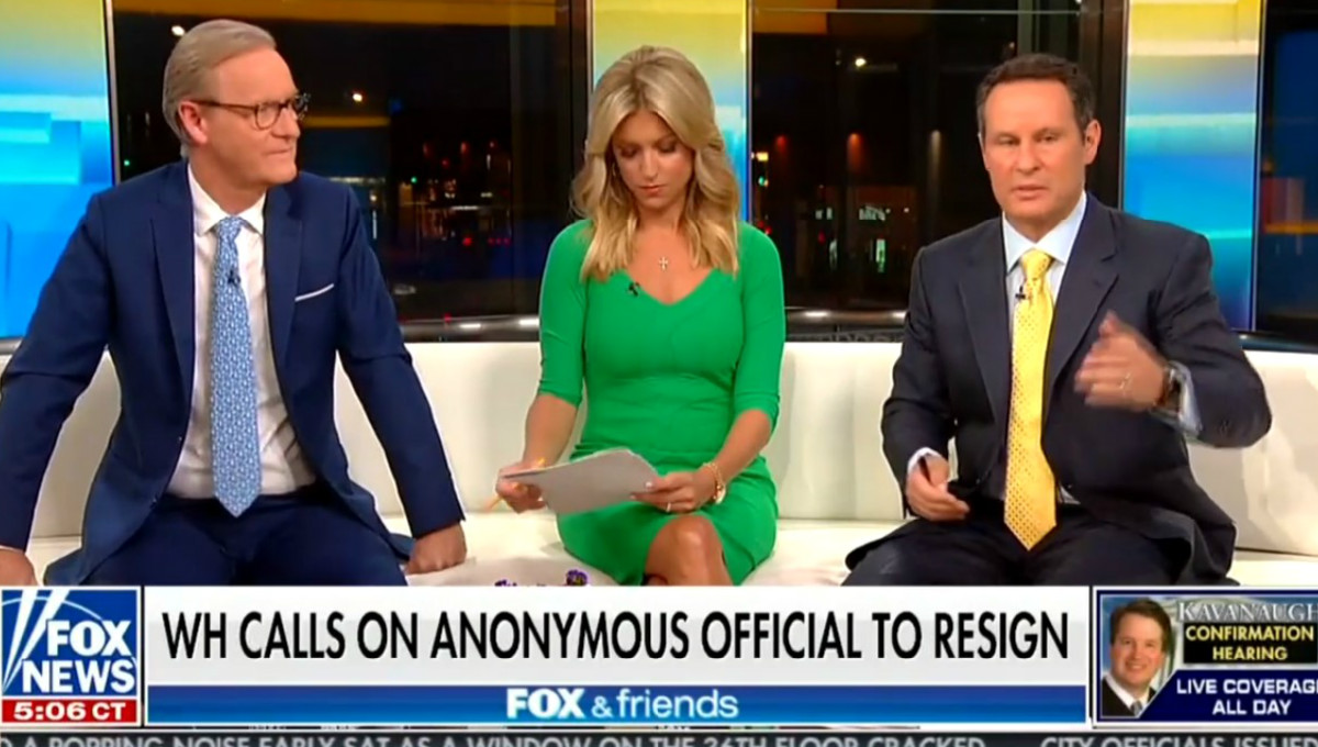Fox's Brian Kilmeade Encourages Trump To Expand White House Roles Of His Family After NYT Op-Ed