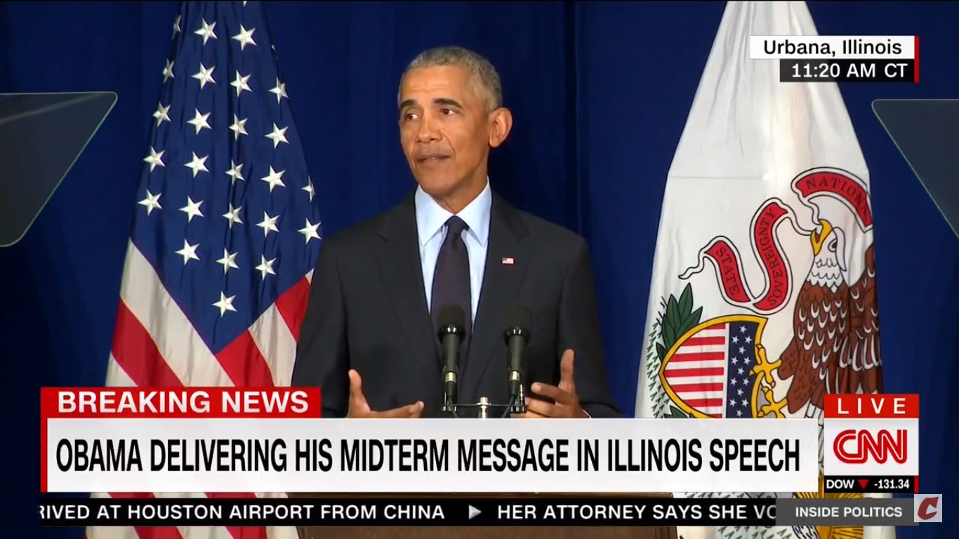 Obama: Trump's The 'Symptom, Not The Cause' Of The Resentment Politicians Have Been Fanning For Years
