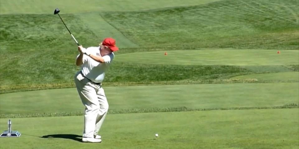 5e59c64b521 Trump Heads To His Golf Course During John McCain s Memorial Service ...