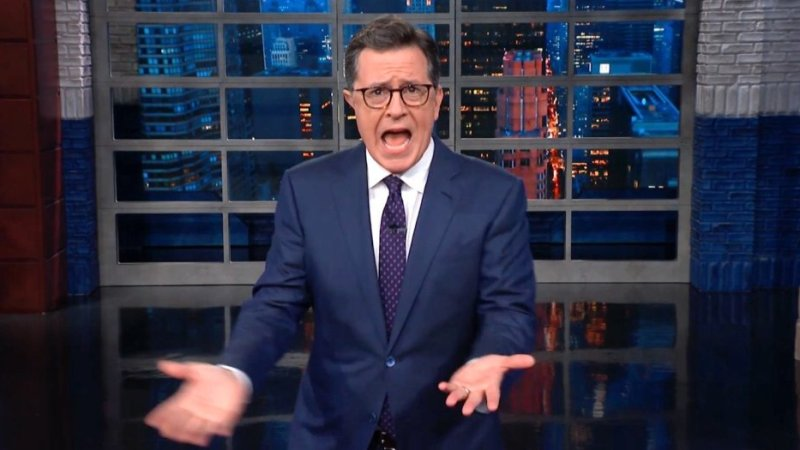 Stephen Colbert Mocks Trump: Ali Baba And His 40 Thieves Are In The Migrant Caravan