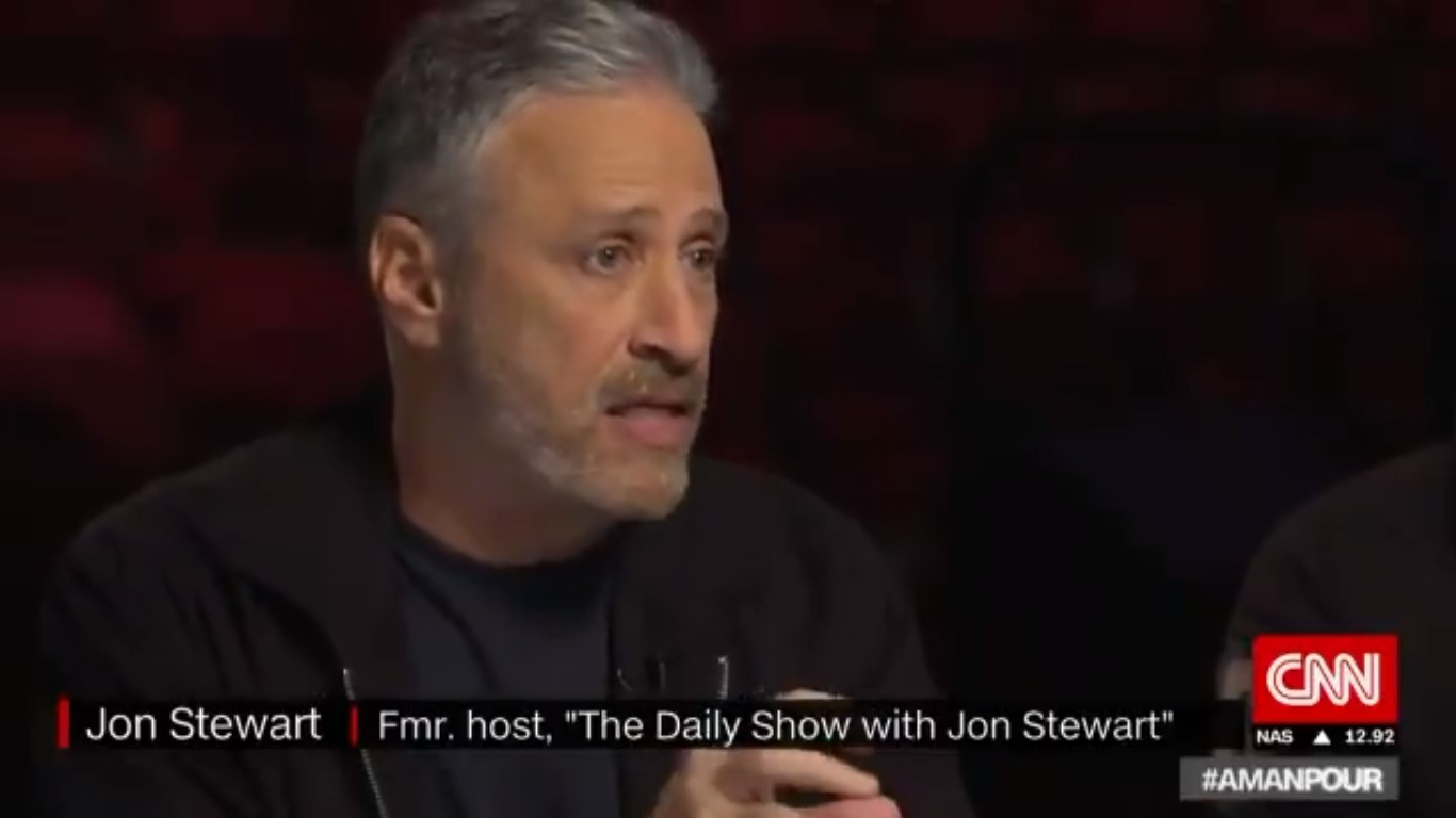 Jon Stewart Explains How Trump's Winning War On Media: He Appeals To Reporters' 'Own Narcissism'