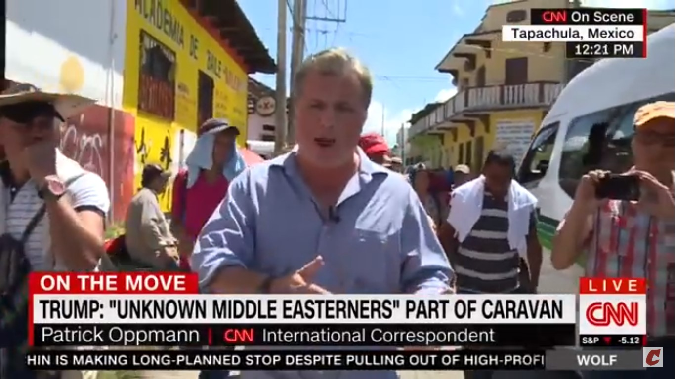 CNN Correspondent Refutes Trump: I Have Not Seen Any Middle Easterners In Caravan