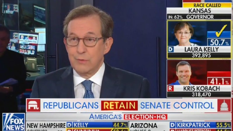 Fox's Chris Wallace Calls Out Laura Ingraham For Mischaracterizing Election Results As Trump Victory