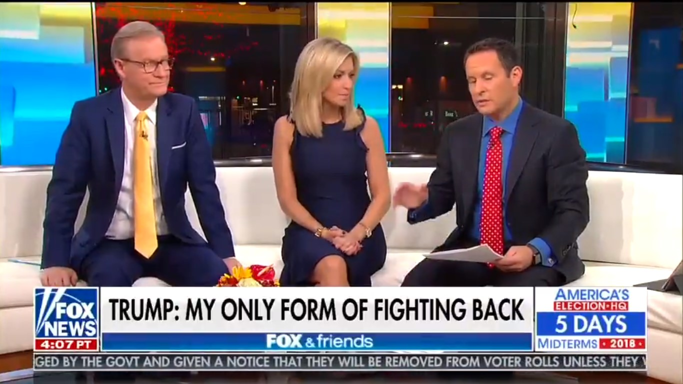 Fox And Friends: Trump's Merely Asking Journalists To Report 'The Way I Want It Reported'