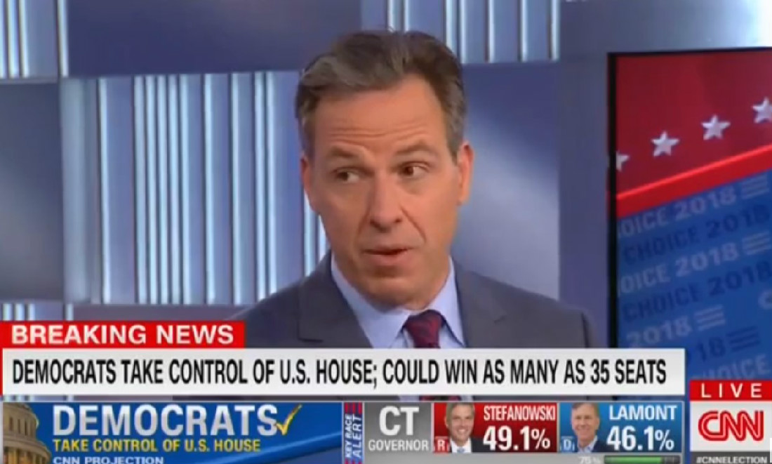 Jake Tapper: 'This Is Not A Good Night' For Trump, Dems 'Will Make His Life A Living Hell'