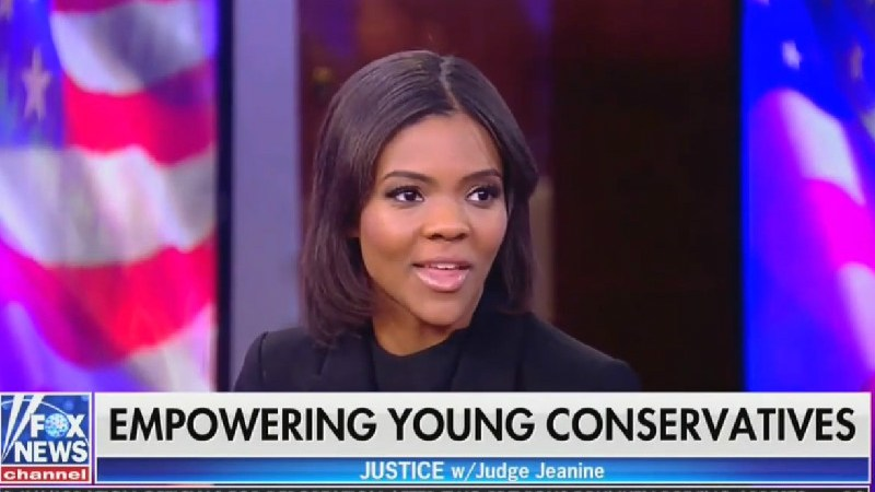 Candace Owens Claims Trump's Popular With The Youth Generation Because He's 'Punk Rock'