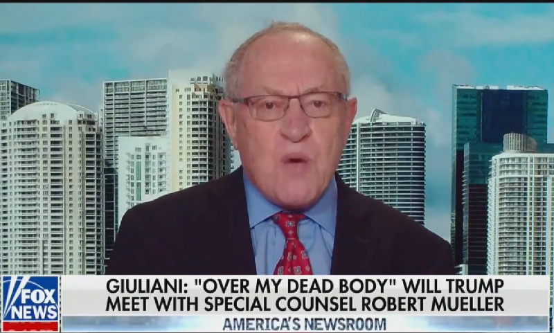 Alan Dershowitz: Michael Flynn Did Nothing Criminal Because 'Lying To The FBI Is Not A Crime'