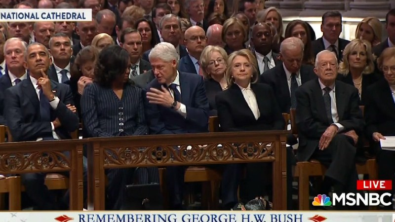 Chris Matthews Claims Hillary And Jimmy Carter Dislike Each Other During Bush Funeral Coverage