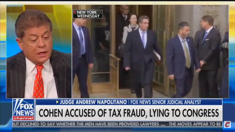 Watch: Judge Napolitano Disproves Fox & Friends' Pro-Trump Talking Points Live On Air