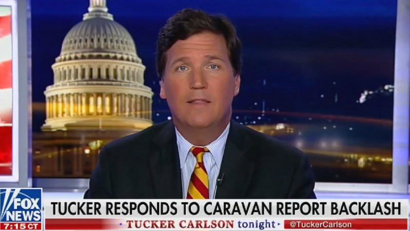 Tucker Says He Won't Be 'Intimidated' By Advertiser Exodus, Doubles Down On Immigration Claims