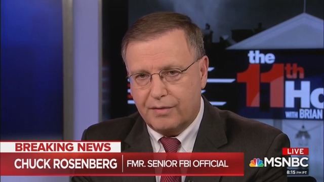 'Deeply And Profoundly Troubling': Chuck Rosenberg Reacts To Tucker Attacking FBI Over Trump-Russia Bombshell