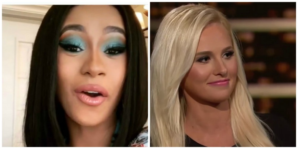 Twitter Points And Laughs After Cardi B Hilariously Drags Tomi Lahren: 'I Will Dog Walk You'