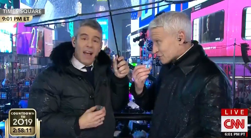 CNN's 'New Year's Eve Live' Dominates Fox News' 'All-American New Year' In Ratings