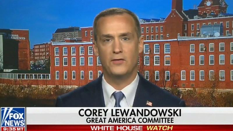 Corey Lewandowski Laughably Insists Mainstream Media Has Ignored Tlaib's 'Motherf*cker' Remarks
