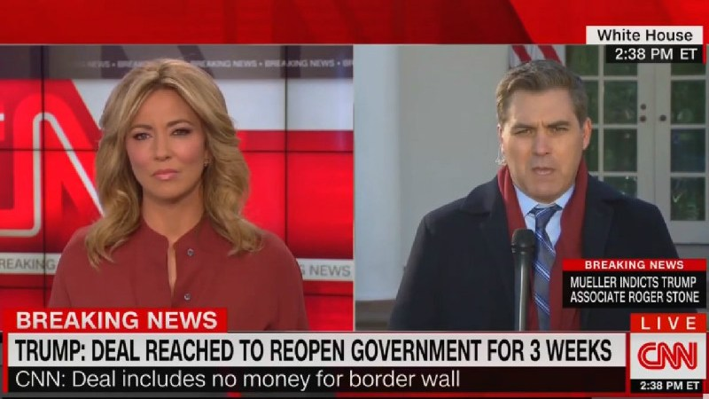 CNN's Jim Acosta On End Of Shutdown: 'One Of The Biggest Tactical Defeats For The President We've Seen'