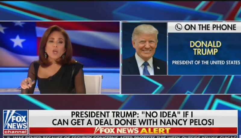 Trump Demands Fox News 'Bring Back' Jeanine Pirro After Show Was Pulled Saturday Night