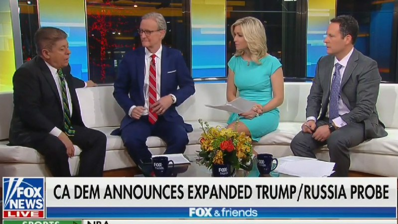Fox & Friends Host Calls On Trump To Open Probe Into Adam Schiff For 'No Reason'
