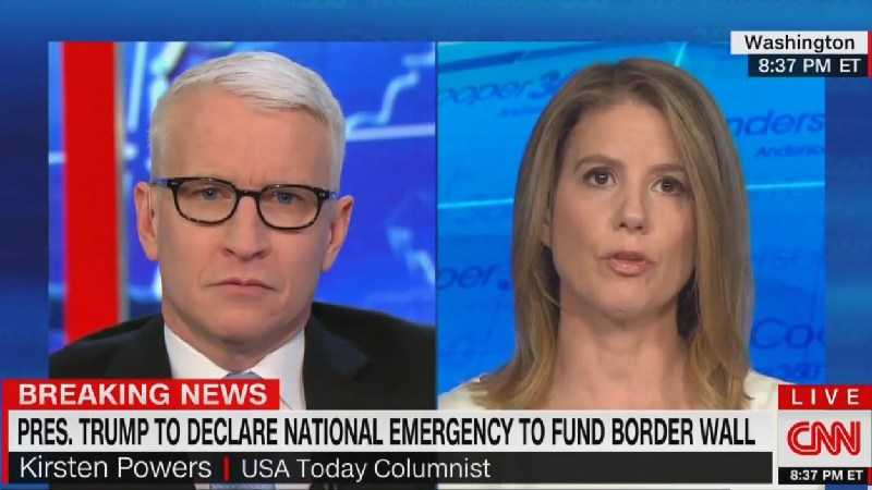 CNN's Kirsten Powers: Why Is Trump Convinced Hannity and Ingraham Have More Power Than He Does?