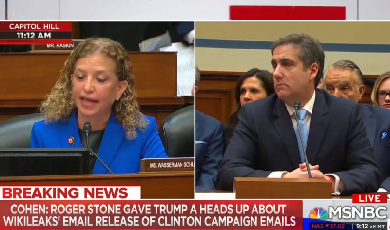 Michael Cohen: I Suspect Mueller Has Evidence That Roger Stone Spoke to Trump About WikiLeaks Email Dump