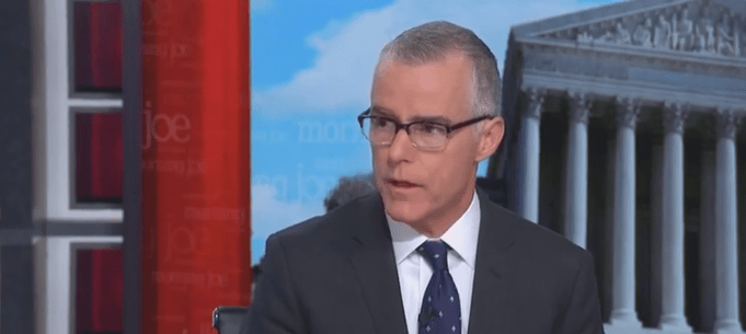 Andrew McCabe: It's Possible Trump Took Orders From Russia
