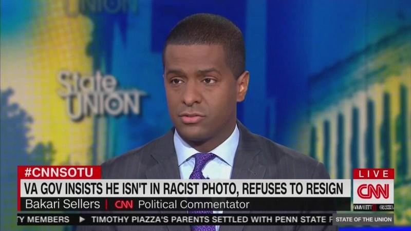 CNN's Bakari Sellers: When You Dress Up In Blackface 'You're Calling Me N*gger'
