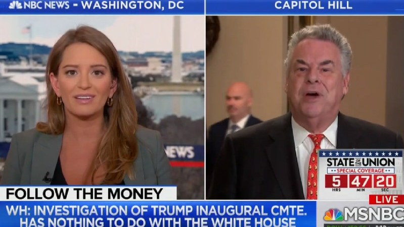 Katy Tur Shuts Down GOP Rep Who Tells Her To 'Control' Herself: 'I'm Perfectly In Control'
