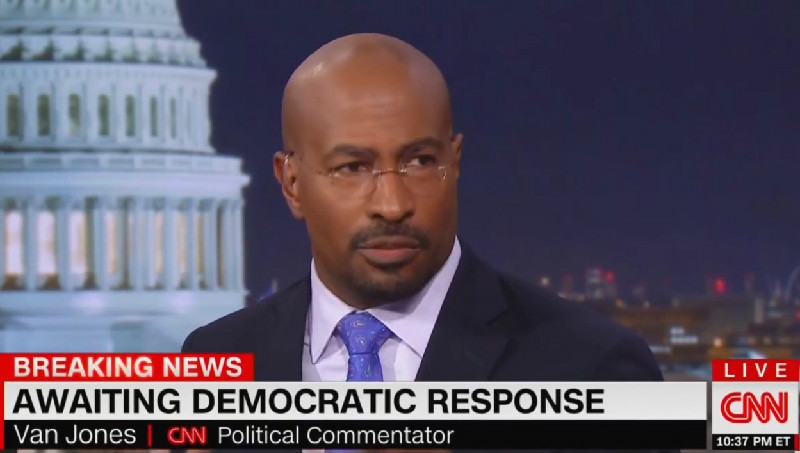 CNN's Van Jones Blasts Trump's SOTU: 'Psychotically Incoherent With Cookies And Dog Poop'