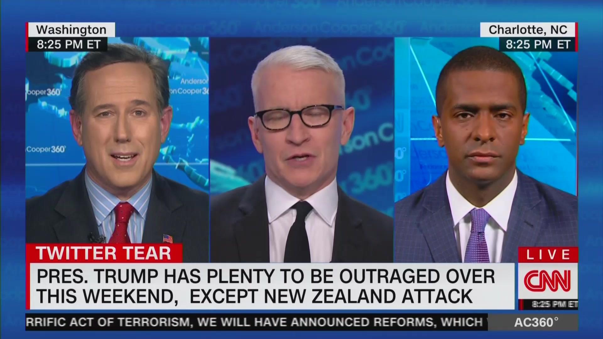 Rick Santorum: I Wish President Trump Would Email a Therapist Instead of Tweet