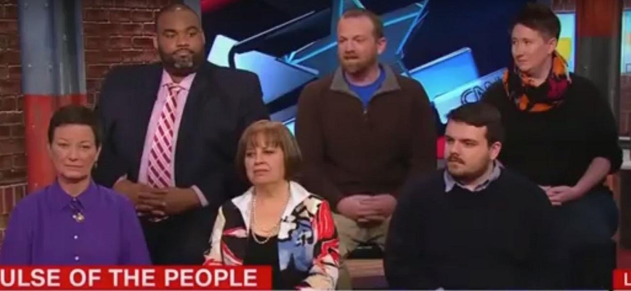 Panel of Democratic Voters on CNN Literally Laughs at Idea of Joe Biden Running for President