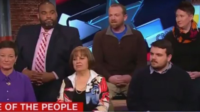 Panel of Democratic Voters on CNN Literally Laughs at Idea of Joe Biden Running for President