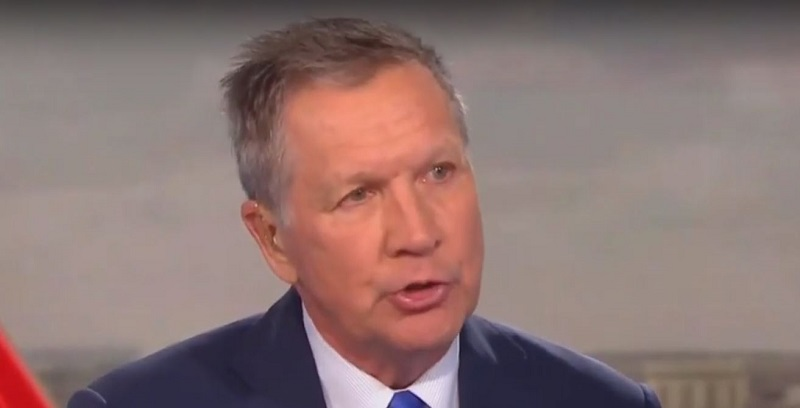 John Kasich Calls Out Republicans for Putting Careers Over Calling Out Trump's Attacks on McCain