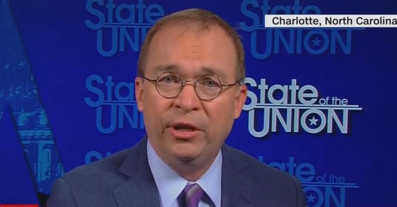 In CNN Interview, Mick Mulvaney Kicks John McCain for Republican Failure to Repeal Obamacare