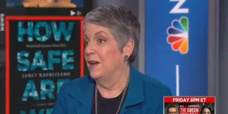 Janet Napolitano on Waiting 75 Years to Address Climate Change: 'Oh My Heavens'