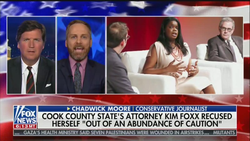 Tucker Carlson Guest Ties Jussie Smollett Decision to Soros, Black Panthers, Kamala Harris and Obama
