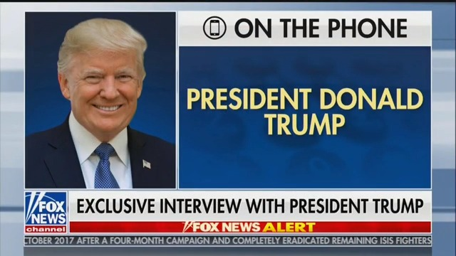 Trump to Hannity: Russia Probe 'Was a Coup' and 'Attempted Overthrow' of US Government