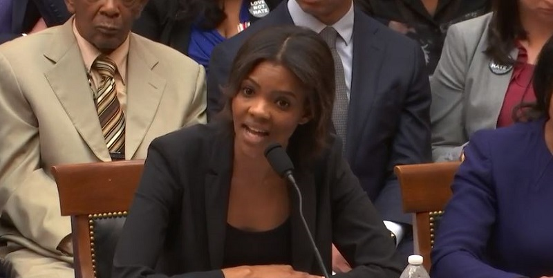 Candace Owens Blows Up After Rep. Ted Lieu Plays Her Own Hitler Comments Back To Her