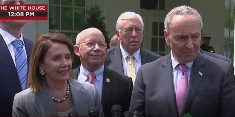 Like Charlie Brown Kicking Football, Democrats Project Optimism After Trump Infrastructure Meeting