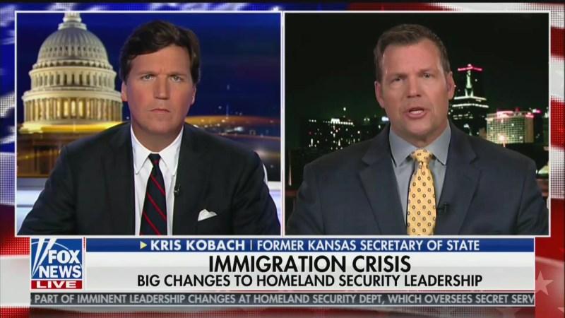 Kris Kobach Interviews For DHS Secretary Job on Fox News: I'd Set Up 'FEMA' Camps to Process Refugees
