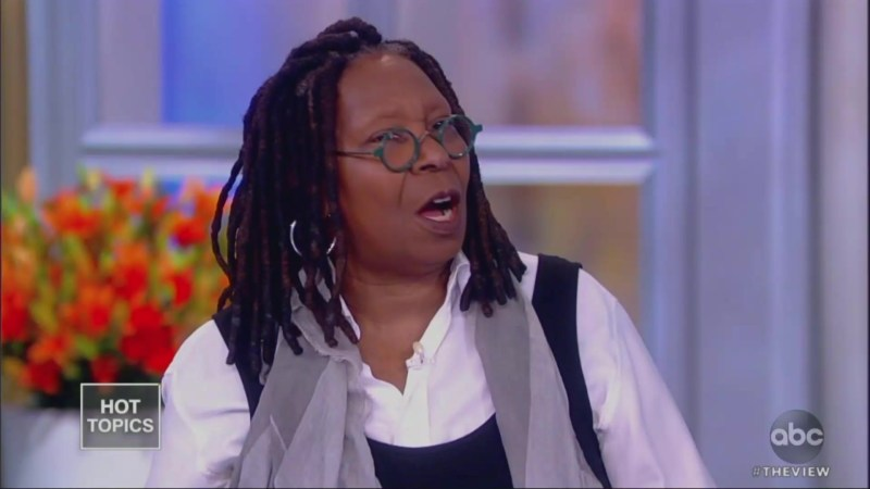 Whoopi Goldberg: Lucy Flores' Allegation 'Pisses Me Off,' 'I Don't Want Joe to Stop Doing That'