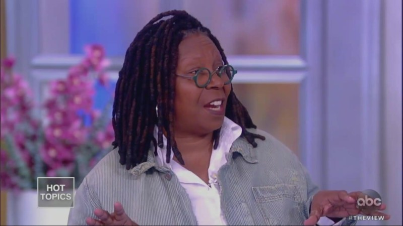 Whoopi Goldberg Intervenes When Meghan McCain Tells Joy Behar Her 'Job Is to Listen to Me'