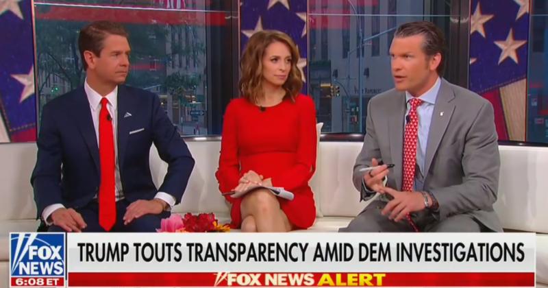Fox's Pete Hegseth: Trump Has 'The Thickest Skin'