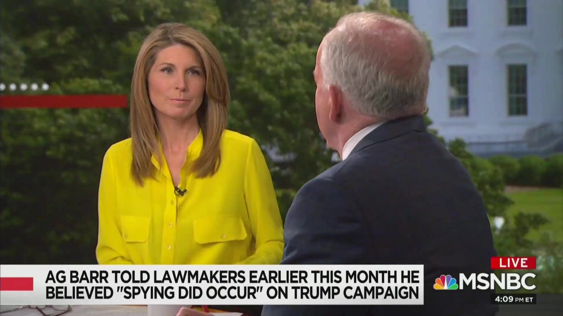 MSNBC's Nicolle Wallace: Does Barr Accusing FBI of 'Spying' Signal 'He's Watched Too Much Sean Hannity'?