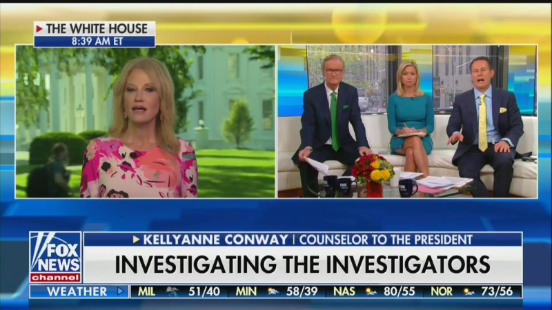 Kellyanne Conway: Putin Sees Us Arguing About Russian Election Interference 'That Did Not Exist'